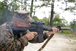 Marines Test Quieter Weapons, High Tech Headsets To Aid Battlefield Communica...