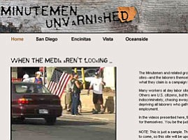 Web Site Shows Minutemen Taunting Day Laborers