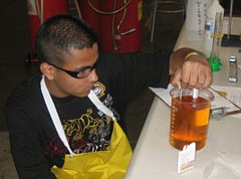 Local High School Students Cooking Up Biodiesel