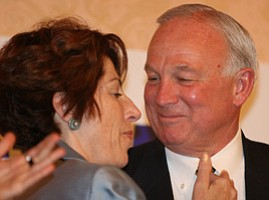 Mayor Jerry Sanders Optimistic About Early Lead