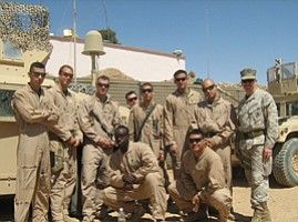 Camp Pendleton Marines Celebrate July 4th in Iraq Without Fireworks, Family