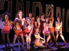 Actress Molly Ringwald stars in Sweet Charity