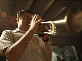 Trumpeter Gilbert Castellanos Performs in Studio