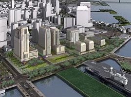 CCDC Approves Master Plan for Navy Broadway Redevelopment