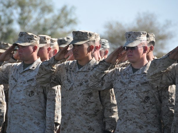 U.S. soldiers at the closing ceremony for a two-week joint military training exercise with Botswana Defense Forces. The U.S. Africa Command was created, in part, to help train African military forces before crises begin.