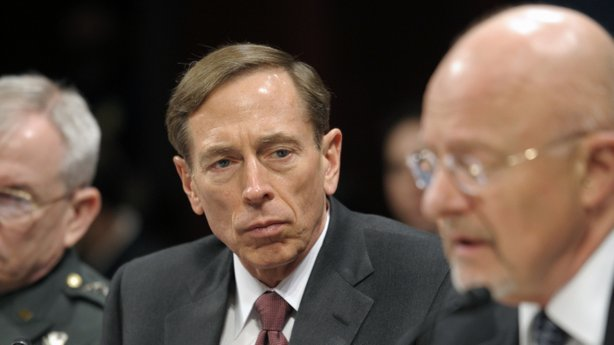 Members of Congress want to know why they didn't know more about the investigation of former CIA Director David Petraeus, seen here testifying on Capitol Hill on Feb. 2.