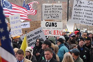 Fears Of Government Tyranny Push Some To Reject Gun Control