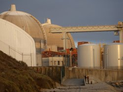 The San Onofre Nuclear Generating Station at San Onofre State Beach in a 2012...