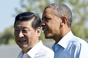 Chinese Cyber-Hacking Discussed At Obama-Xi Summit