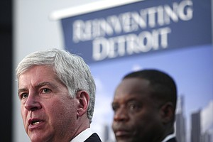 Michigan Governor Doesn't Want Bailout For Detroit