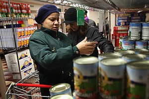 Food Stamp Cuts, Cold Weather Put Extra Strain On Food Pa...