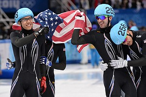 Finally: U.S. Speedskaters Break Drought, Win Silver