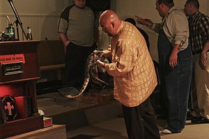 Serpent Experts Try To Demystify Pentecostal Snake Handling