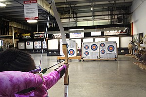 More Girls Target Archery, Inspired By 'The Hunger Games'