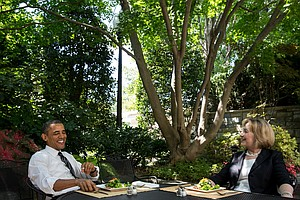 Obama And Clinton Meet For 'Friendship' Lunch