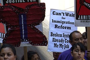 San Diego Leaders Rally To Keep Immigration Reform Hopes ...