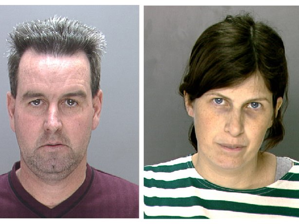 This undated photo combination provided by the Philadelphia Police Department shows Herbert and Catherine Schaible, who were convicted of involuntary manslaughter in the 2009 death of their toddler son.