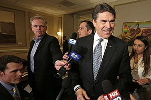 Rick Perry's War On The Blue States