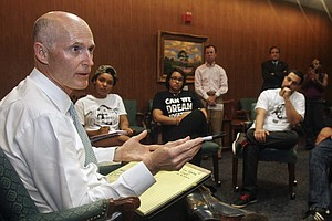 Florida Governor Stands Firm On 'Stand Your Ground' Law