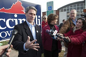Obama Donor Behind Third-Party Va. Candidate? Maybe Not