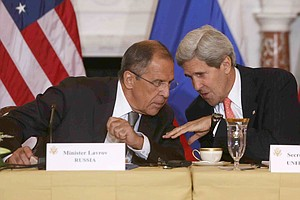 Kerry, Hagel Aim To Ease U.S.-Russian Tensions