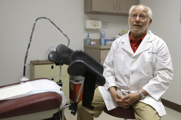 Dr. Howard Novick says Texas' new abortion restrictions could force him to close the Houston clinic he opened in 1980. He says he doesn't have the  more than $1 million required to convert his office into a surgical center with wide corridors and sophisticated air-flow systems.