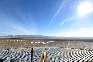 Shiny And New: World's Largest Solar Plant Opens In Nevada