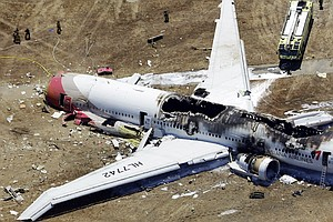 S.F. Crash-Landing: Two Chinese Students Died On Airliner