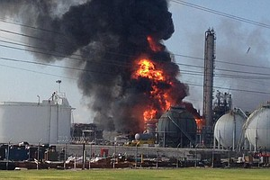 Explosion, Fire Reported At Chemical Plant Near Baton Rouge