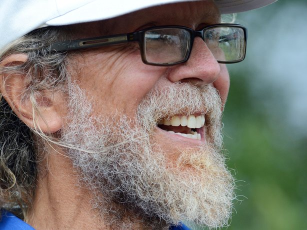No one has come to Leith, N.D., but the community is mobilizing to fight out of fear that Cobb (above) could succeed. The mayor has vowed to do whatever it takes to ensure Cobb's dream remains just that.