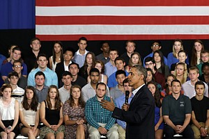 Poll: Support For Obama Among Young Americans Eroding