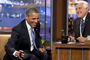 Obama To Leno: 'There Is No Spying On Americans'