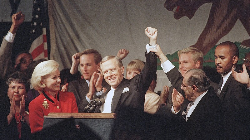 Republicans celebrated when California Gov. Pete Wilson was re-elected in 199...