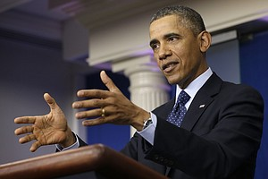 Obama Looks For A Spring Thaw With Congress To Start Melting Deficit