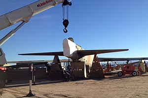 Once A Mighty Bomber, A B-52 Meets Its End In The Desert