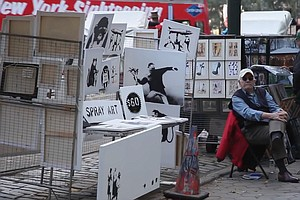 Collectible Art At Street Prices: Banksy Sells Pieces For...