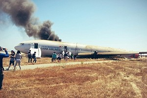 Developing: Boeing 777 Crashes At San Francisco International