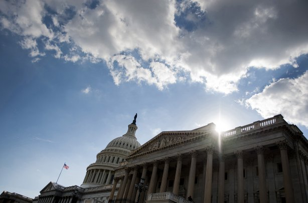 As the sun started its descent behind the U.S. Capitol building on Monday, it seemed virtually certain to rise on a partially shuttered federal government.