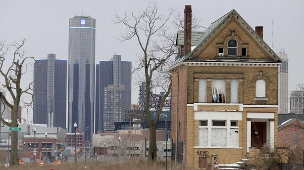 With a declining population and dwindling tax base, Detroit has grappled with severe financial problems in the past decade.