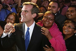 Eric Garcetti Wins L.A. Mayor's Race