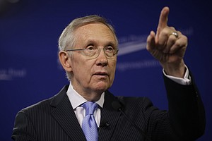 Reid's Limited Senate Options Lead To 'Nuclear' Threat