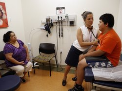 Families soon will be able to sign up for new health insurance options throug...