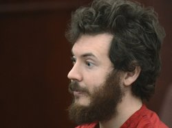 Accused Aurora theater gunman James Holmes during a March court hearing in Centennial, Colo.
