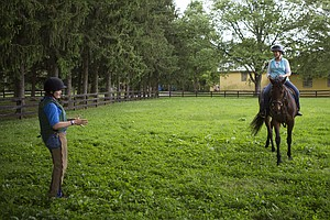 An Abandoned Racehorse Finds Love On The Home Stretch