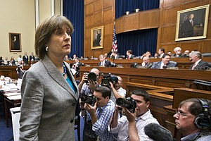Lois Lerner's Brief And Awful Day On Capitol Hill