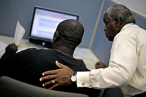 Jobless Rate Falls For Blacks, But It's Not Good News Yet