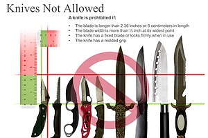 TSA Says It Won't Relax Carry-On Ban Of Knives, Other Items