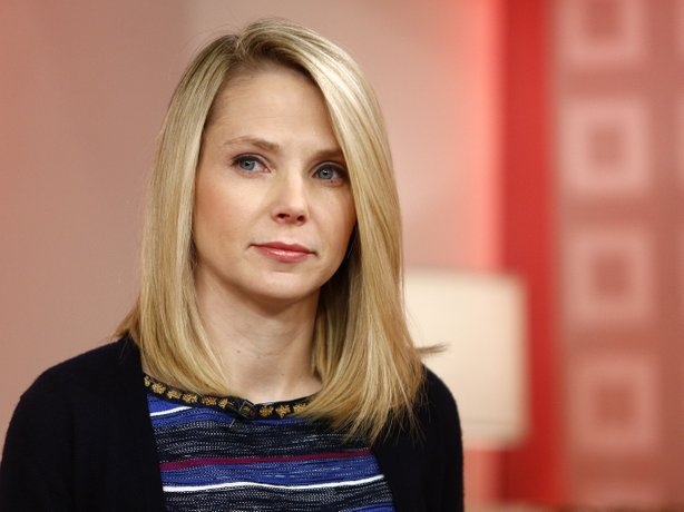 Yahoo CEO Marissa Mayer on Feb. 20, 2013. Under Mayer, Yahoo is ending its remote work policy for employees.