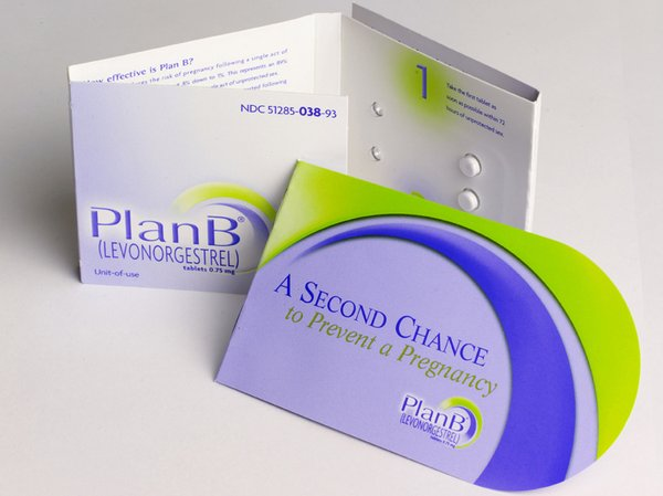 Plan B is one of two emergency contraceptives available i...