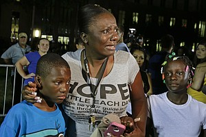 Angry, But Mostly Peaceful Protests Follow Zimmerman Acquittal